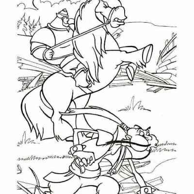 раскраски богатыри сказки бесплатно распечатать скачать