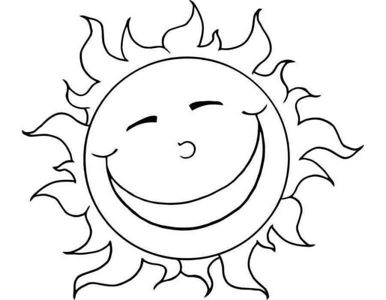 раскраски солнышко бесплатно распечатать скачать картинки