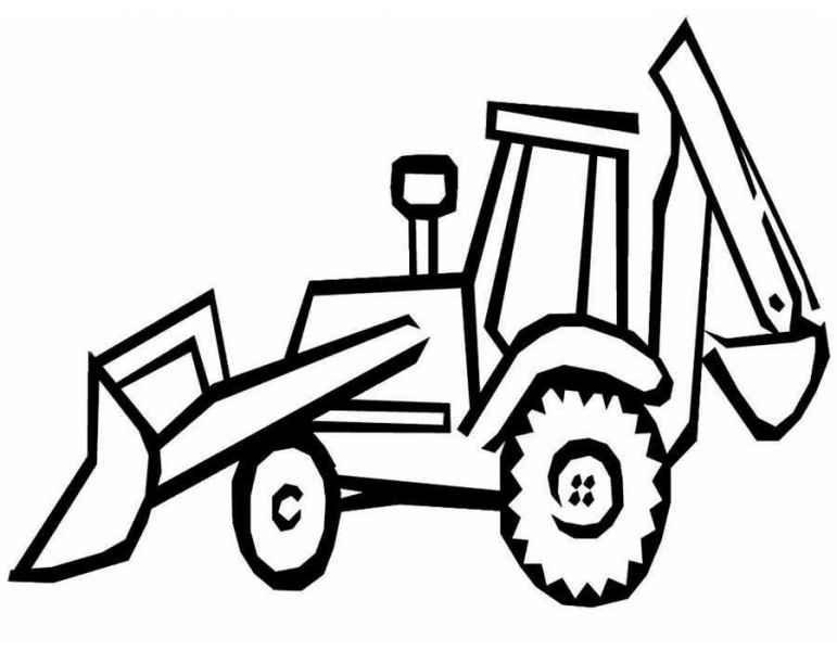 Raskraski Traktor Besplatno Raspechatat Skachat Kartinki Dlya Detej