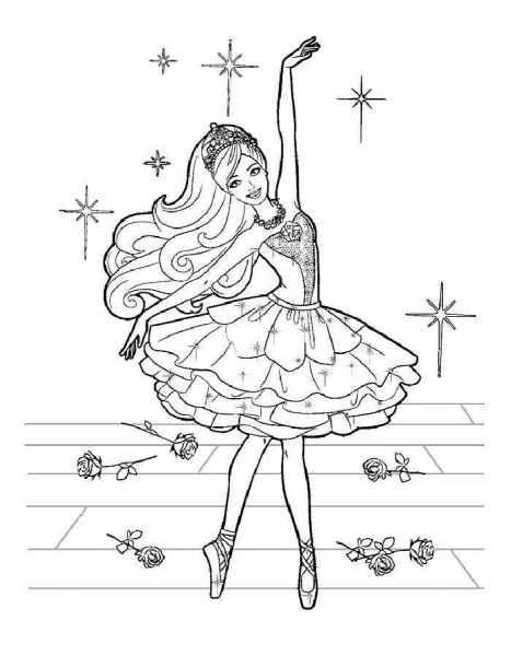 раскраски балерины бесплатно распечатать скачать картинки