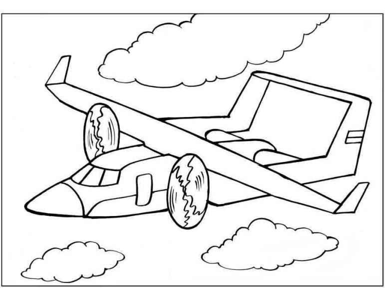 раскраски самолеты бесплатно распечатать скачать картинки