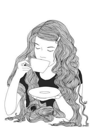 Чаепитие у девушки