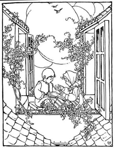 Кай и герда читают сказки