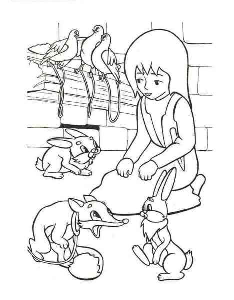 Герда и звери