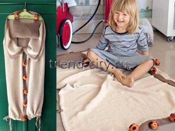 Спальный мешок-трансформер спицами