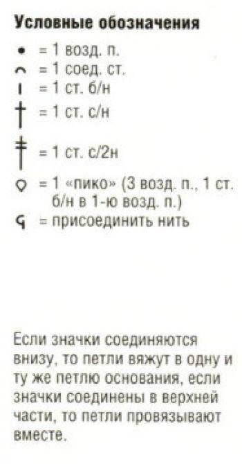Мотив крючком 12