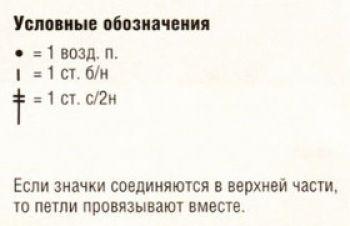 Ажурный узор крючком № 3682