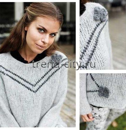 Пуловер С Розами Доставка