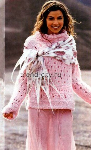 Вязание пуловеров спицами 2014