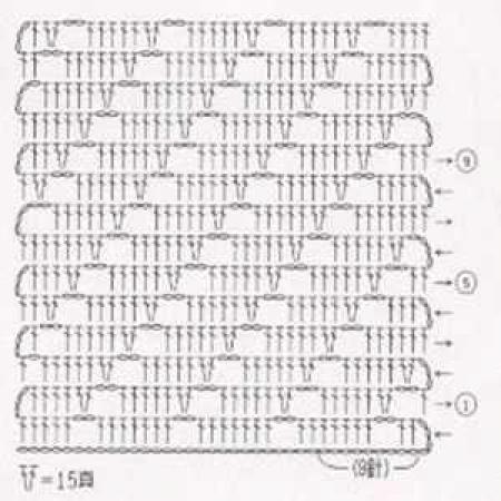 Простой узор крючком - 10