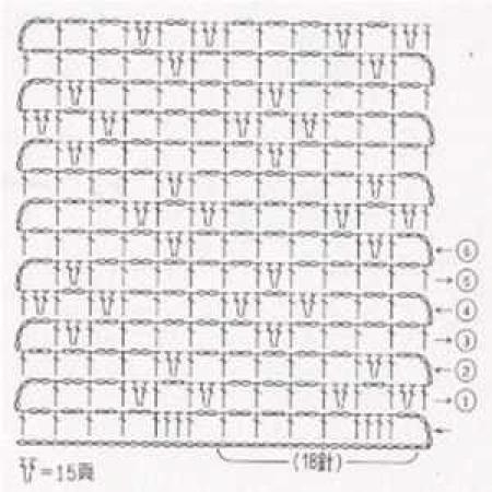 Простой узор крючком - 15