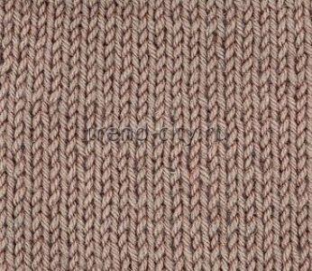 Простой узор спицами - Чулочная вязка