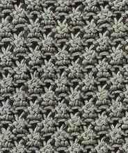 Объемный узор спицами - Ежевичная вязка