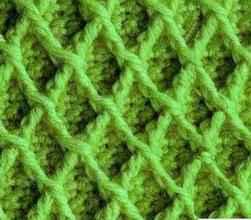 Плотный узор крючком № 1114