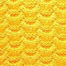 Рельефный узор плетенка