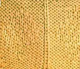 Рельефный узор ромбы из мелкого риса