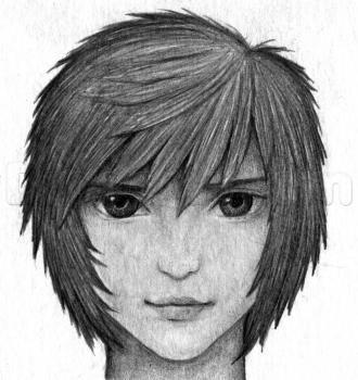 kak risovat volosyi anime v karandashe0886